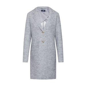 ONLY Prechodný kabát 'ELLA' svetlosivá vyobraziť
