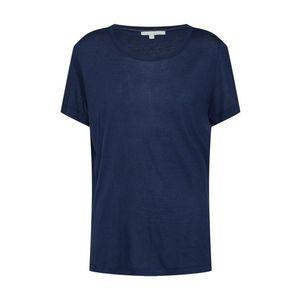 TOM TAILOR DENIM Tričko námornícka modrá vyobraziť