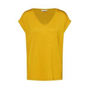 PIECES Tričko 'Billo' zlatá žltá vyobraziť