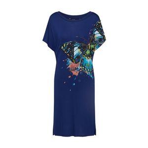Desigual Šaty 'VEST_BUTTERFLY' modré vyobraziť