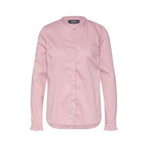 MOS MOSH Blúzka 'Mattie Fine Stripe Shirt' rosé vyobraziť