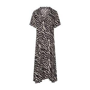 Soyaconcept Letné šaty 'SC-ANABEL 3' pieskový / čierna vyobraziť