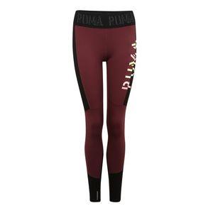PUMA Športové nohavice vínovo červená vyobraziť