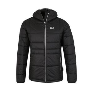 JACK WOLFSKIN Outdoorová bunda 'ARGON' svetlosivá / čierna vyobraziť