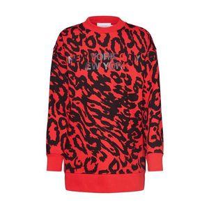 Calvin Klein Mikina červené / čierna vyobraziť