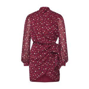 Bardot Košeľové šaty 'Kalia' burgundská vyobraziť