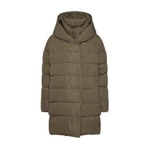 Herrlicher Zimný kabát olivová vyobraziť