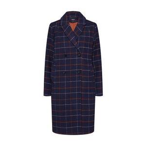 ONLY Prechodný kabát tmavomodrá / oranžová vyobraziť