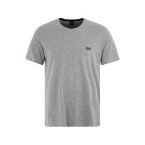BOSS Krátke pyžamo sivá vyobraziť