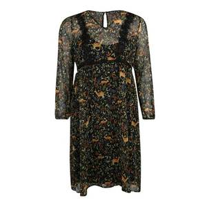 Junarose Večerné šaty 'JRALKIA L/S MIDI DRESS - K' čierna vyobraziť