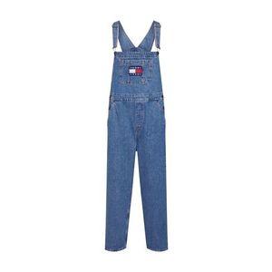 Tommy Jeans Rifle na traky modrá denim vyobraziť