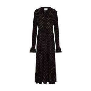 JUST FEMALE Šaty 'Musette' čierna vyobraziť