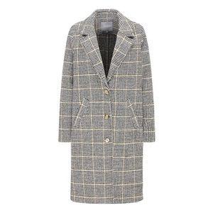 BROADWAY NYC FASHION Prechodný kabát 'SHERALIN' béžová / svetlosivá vyobraziť