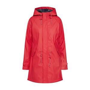 Derbe Prechodný kabát 'Travel Friese Check Girls' červené vyobraziť