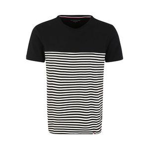 Tommy Hilfiger Underwear Krátke pyžamo 'CN SS TEE STRIPE' čierna vyobraziť