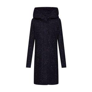 VILA Prechodný kabát 'VICANIA' čierna / biela vyobraziť