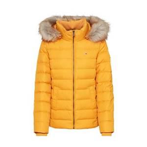 Tommy Jeans Zimná bunda tmavožltá vyobraziť
