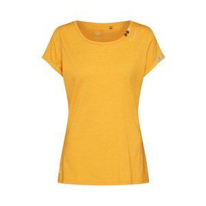 Ragwear Tričko 'FLORAH ORGANIC' žlté vyobraziť