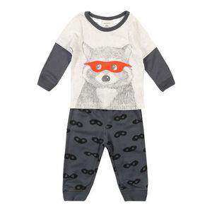 Carter's Pyžamo sivá / biela vyobraziť