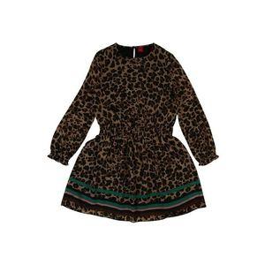 S.Oliver Junior Šaty pieskový / čierna vyobraziť