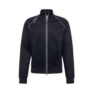 Lacoste LIVE Tepláková bunda čierna vyobraziť