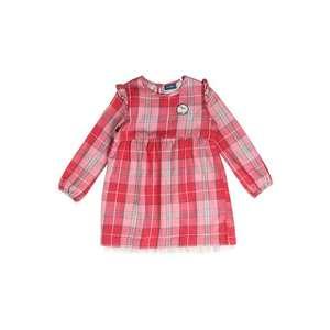 Sanetta Kidswear Šaty sivá / ružová vyobraziť