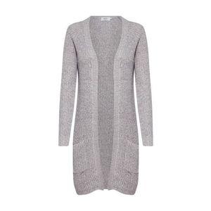 ONLY Pletený kabát 'BERNICE' sivá vyobraziť