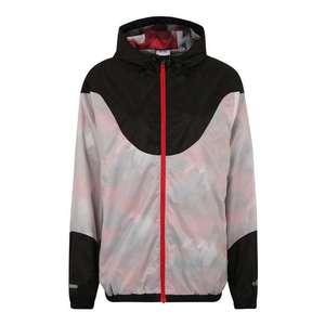 ELLESSE Outdoorová bunda 'CARINI' sivá / ružová / čierna vyobraziť