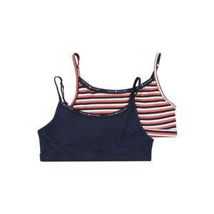 Tommy Hilfiger Underwear Podprsenka 'BRALETTE STRIPE' námornícka modrá / ružová vyobraziť