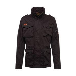 Superdry Prechodná bunda 'ROOKIE' čierna vyobraziť