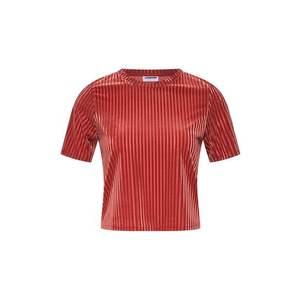 Noisy May Tričko hrdzavo červená vyobraziť