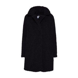 Noisy May Prechodný kabát 'Teddy' čierna vyobraziť