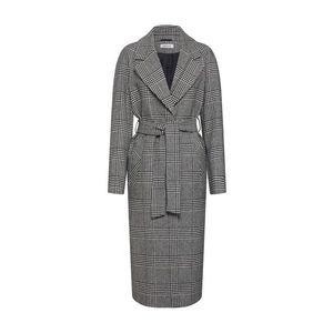 EDITED Prechodný kabát 'Cecilia' čierna / biela vyobraziť