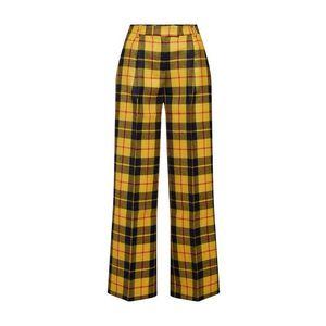 SAND COPENHAGEN Nohavice 'Opal' žlté / čierna vyobraziť