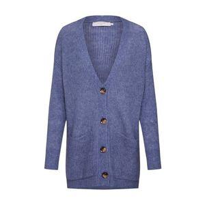 Cream Kardigán 'Gina Oversize Knit Cardigan' dymovo modrá / svetlomodrá vyobraziť