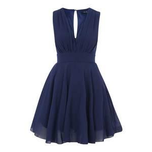 TFNC Kokteilové šaty 'Nordi' námornícka modrá vyobraziť