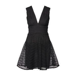 Bardot Kokteilové šaty čierna vyobraziť