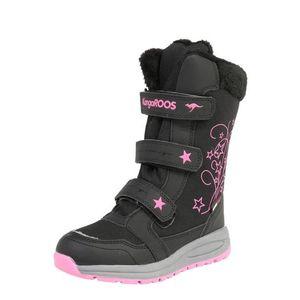 KangaROOS Snehule 'K-Star Boot RTX' ružová / čierna vyobraziť