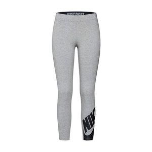 Nike Sportswear Legíny 'Futura' sivá melírovaná / čierna vyobraziť