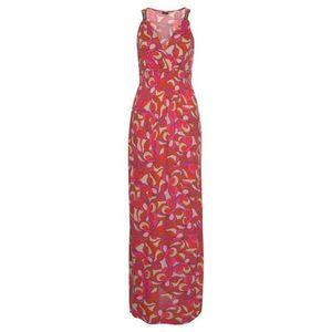 LASCANA Letné šaty zmiešané farby / červené vyobraziť