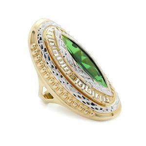 Zlatý prsteň BORBALA vyobraziť