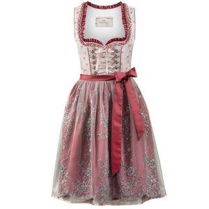 STOCKERPOINT Kroj sivá / ružová / bordové / biela vyobraziť