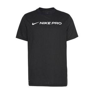 NIKE Funkčné tričko 'DRY TEE NIKE PRO' čierna vyobraziť