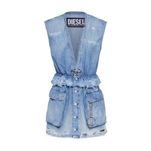 DIESEL Šaty 'DE-AVA Dresses denim' modrá denim vyobraziť