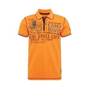 CAMP DAVID Tričko oranžová vyobraziť
