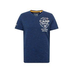 CAMP DAVID Tričko námornícka modrá vyobraziť