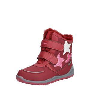 KAPPA Snehule 'Glitzy TEX' ružová / červené vyobraziť