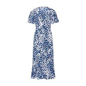 Whistles Šaty 'BRUSHED LEOPARD BUTTON DRESS' modré vyobraziť
