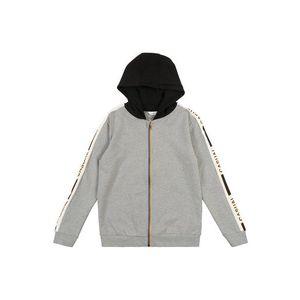 NAME IT Tepláková bunda nebesky modrá / sivá melírovaná / svetlooranžové / čierna / perlovo biela vyobraziť