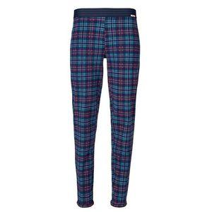 Skiny Pyžamové nohavice 'Joy Sleep' modré / dymovo modrá / červené / biela vyobraziť